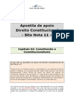 Apostila de Apoio-cap 03-Constituicao e Constitucionalismo