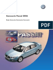 Caroserie Passat B6 Document in Germana