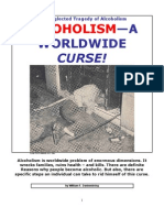 ALCOHOLISM--A Worldwide Curse!