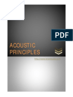 Acoustic Principles