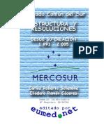 Mercosur Estructura y Resoluciones 1