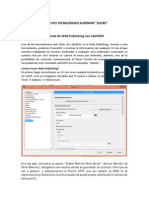 Tutorial de Web Publishing Con LabVIEW