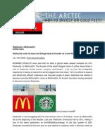 Starbucks v McDonald