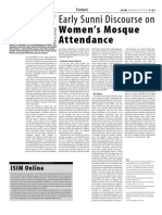 Early Sunni Discourse on Women s Mosque Attendance