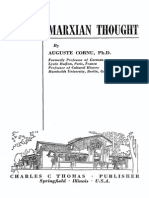 Auguste Cornu - The Origins of Marxian Thought (1)