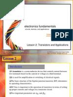 Lesson 2 Transistors