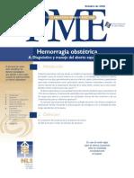 PME_10 HEMORRAGIA OBSTETRICA