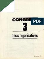 Tesis organizativas