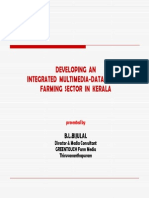 Developing Anintegrated Multimedia-database of Farming Sector in Kerala