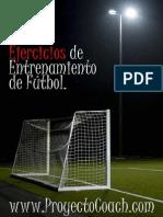 50 Ejercicios Entrenamiento Futbol - Www.proyectocoach.com