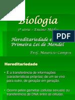 3ª Série - Conceitos e 1ª Lei de Mendel