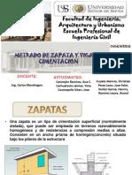 Zapatas Final