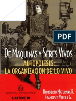 Maturana & Varela Autopoiosis