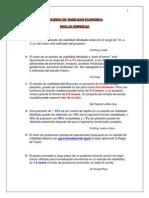 Reglas Empíricas en Estudios de Viabilidad