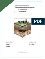 Geologia Perfiles Del Suelo.