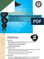 Prescripción en Odontadadología