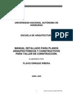 Manual Detallado Para Planosarquitectónicos y Constructivospara Taller de Construcción01