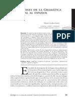 Gaiser Aplicaciones de La Gramática Funcional Al Español