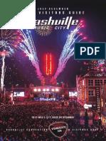 Nashville Visitors Guide July - Dec 2014