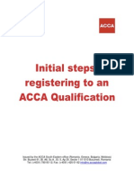 ACCA Registration Guide for 2014-2015