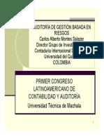 AUDITORIA DE GESTIÓN BASADA EN RIESGOS