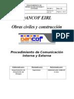 Procedimiento de Comunicacióin Interna y Externa