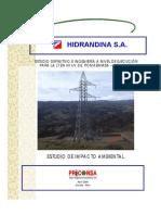EIA LT en 60kV SE Pomabamba - SE Huarí