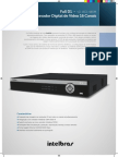 Datasheet Vd 16d1 480m Gravador Digital de Video Full d1