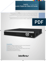 Datasheet Vd 16d1 480m Gravador Digital de Video Full d1