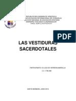 Las Vestiduras Del Sacerdote
