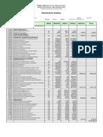 Presupuesto Rehabilit Vias FFCC