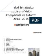 Claridad Estratégica Inconstructora 2012 -2015