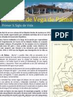 """Crónicas Vego-Palmenses. Crónica 2 """"Primer Cuarto de Siglo"""""""