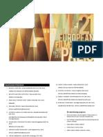 Program XXI Festivala Evropskog Filma Palic 2014