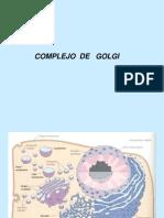 Comple Jo Golgi