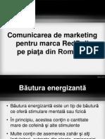 Comunicarea de Marketing Pentru Marca RedBull