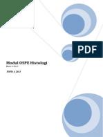 Modul OSPE Histologi Blok 6 2013