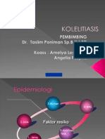 Ppt Fix Kolelitiasis