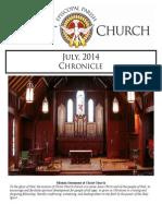 July 2014 Chronicle