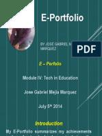 E-Portfolio Example