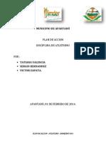 Plan Accion Atletismo 2014.