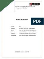 Consolidacion y Compresion de Suelos. Castro