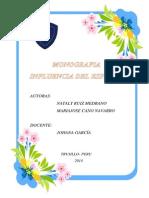 Monografia Influencia Español
