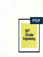 1977 Chrysler Engineering