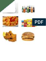 alimentos dañinos