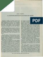 EL Aristotelismo Politico de Tomas de Aquino
