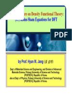 (05) Kohn-Sham Equations for DFT