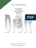WebQual Draft