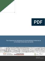 Plan Especial de Indicadores de Sostenibilidad Ambiental de La Actividad Urbanistica de Sevilla