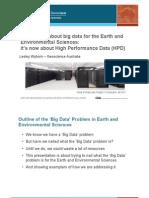 Big Data in Env. Sc. In Australia